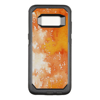 Abstract hand painted watercolor background. 2  OtterBox commuter samsung galaxy s8 case