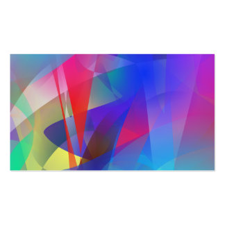 Abstract Hard Edge Business Card Templates