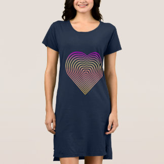 Abstract Heart Dress
