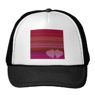 Abstract Heart Trucker Hat