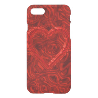 abstract heart iPhone 7 case