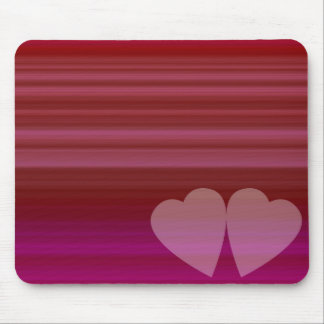 Abstract Heart Mouse Pad