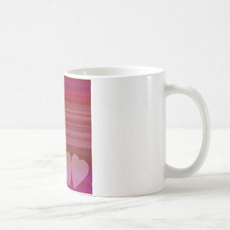 Abstract Heart Mugs