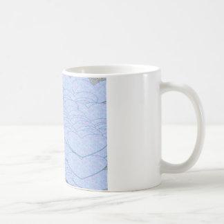 Abstract hearts mug