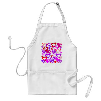 Abstract Hearts Standard Apron