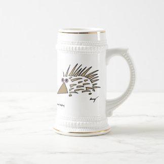Abstract Hedgehog Stein Beer Steins