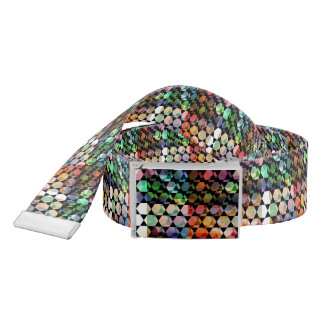 Abstract Hexagon Graphic Design Belt