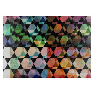 Abstract Hexagon Graphic Design Cutting Board