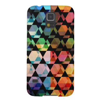 Abstract Hexagon Graphic Design Galaxy S5 Cover