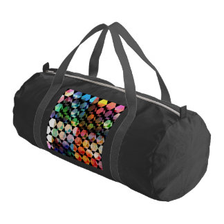 Abstract Hexagon Graphic Design Gym Bag