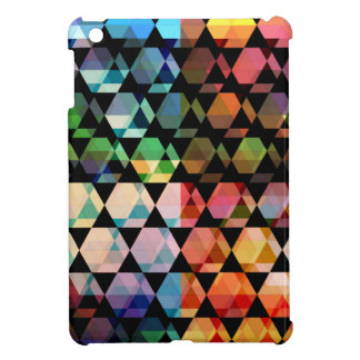 Abstract Hexagon Graphic Design iPad Mini Case