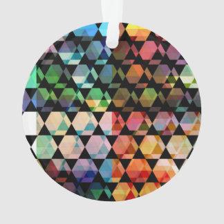 Abstract Hexagon Graphic Design Ornament