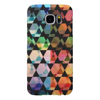 Abstract Hexagon Graphic Design Samsung Galaxy S6 Cases