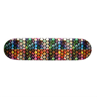 Abstract Hexagon Graphic Design Skateboards