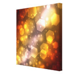 Abstract Hexagon Stretched Canvas Prints