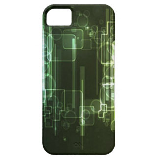 Abstract hi-tech background design iPhone 5 cases