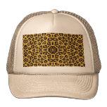 Abstract Hipster Cheetah Animal Print Cap