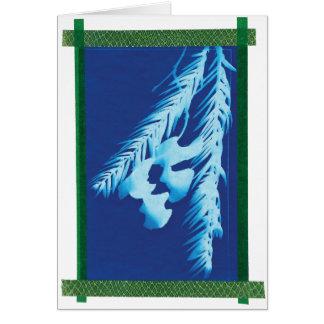 Abstract Holiday Blank Card