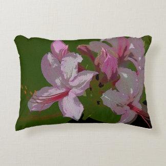 Abstract honeysucke decorative cushion