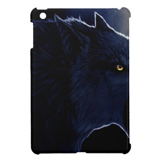 Abstract Horror Dark Wolf Silhouette Cover For The iPad Mini