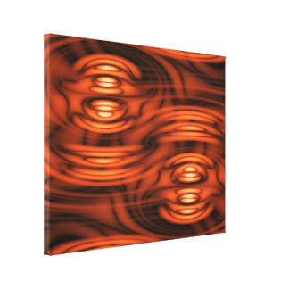 Abstract Hot Spots 2 Canvas Print
