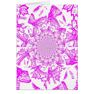 Abstract/Hypnotic Digital Art Card