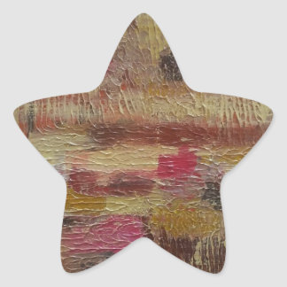 Abstract II.jpg Star Sticker