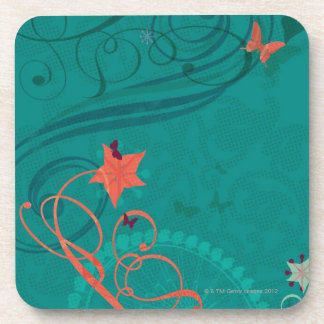 Abstract Illustration Drink Coasters