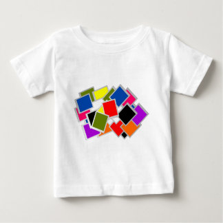 abstract illustration of blank  frame baby T-Shirt