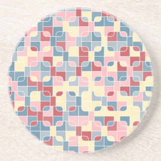 abstract image coaster