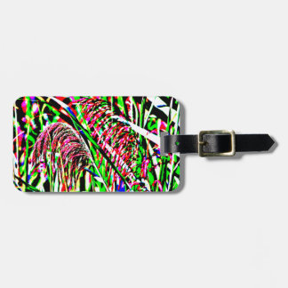 Abstract Image of Grass in a Field Luggage Tag