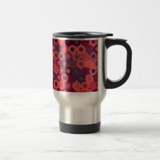 abstract image travel mug
