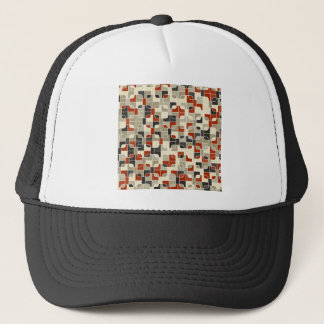 abstract image trucker hat