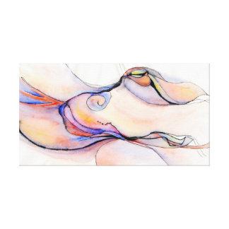 Abstract Images:  Amorphous Pleasure Canvas Print