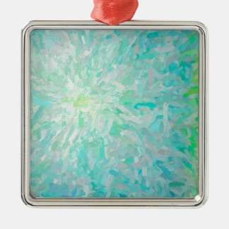Abstract Imposto Color Composition Metal Ornament
