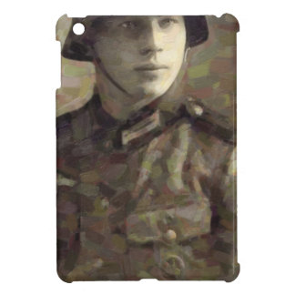 Abstract impressionist painting of A Young Soldier Cover For The iPad Mini