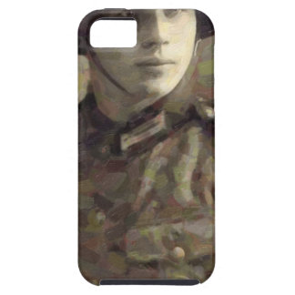 Abstract impressionist painting of A Young Soldier iPhone 5 Cases
