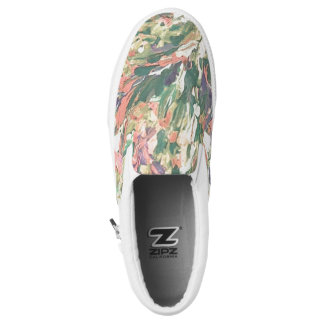 Abstract impressionist Shoes, Unisex Printed Shoes