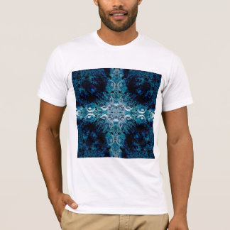 Abstract in Blue and Teal. Some soft edges. T-Shirt