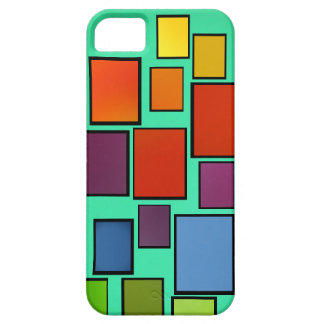 Abstract In Color iPhone 5 Cover