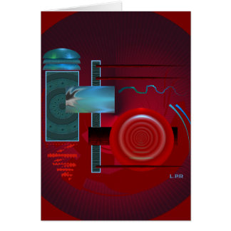 Abstract In Motion Card
