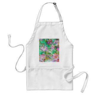 Abstract in Pink and Green Standard Apron