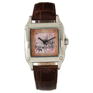 Abstract In Pink Watch