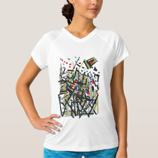 Abstract in Tape & Letterforms 1 T-Shirt
