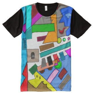 Abstract In The Daylight 702 All-Over Print T-Shirt