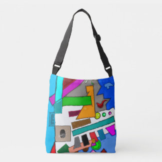 Abstract In The Daylight 702 Crossbody Bag