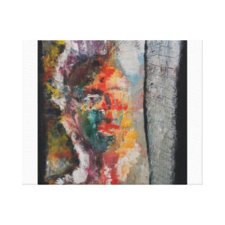 Abstract Indian Bride Gallery Wrapped Canvas