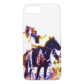 Abstract Indian iPhone 7 Case