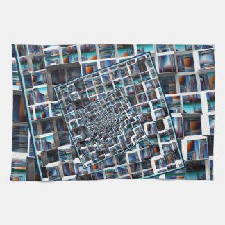 Abstract Infinity Tea Towel