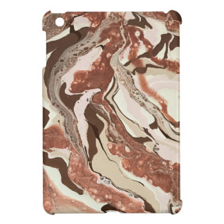 "Abstract  iPad Mini Case - ""Cafe Au Lait"""